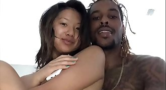 Interracial Deepthroat and Pussy Fuck (Cash&Layla Amateur Films Part.2)