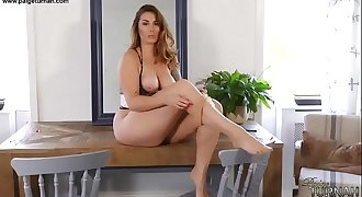 British Big Ass Babe Paige Turnah Taunts In Nylons Fetish PAWG