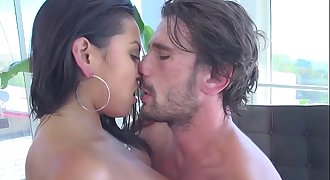 Manuel Ferrara and Adrianna Luna Hot Latin Dreamy Fuck