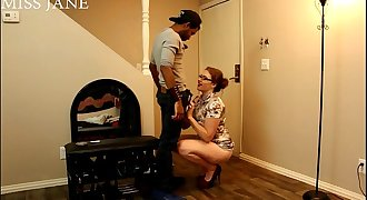 Cucked by the Neighbor Oral pleasure Pussy eating Fucking Miss Jane Judge